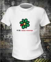 Футболка ICQ