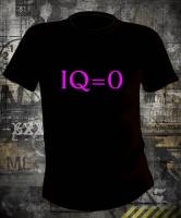Футболка IQ=0