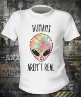 Футболка I Don't Believe In Humans