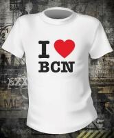 Футболка I Love BCN