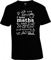 Футболка I Love Maths