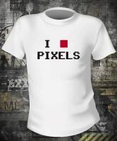 Футболка I Love Pixels
