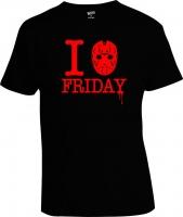 Футболка I love Friday Friday the 13th