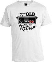 Футболка I'm Not Old I'm Just Retro