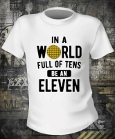 In A World Of Tens Eleven