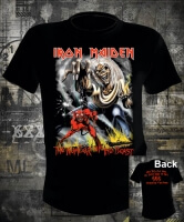 Футболка Iron Maiden Number of the Beast
