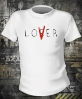 Футболка It Stephen King Loser Lover
