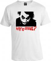 Футболка Joker Why So Serious?