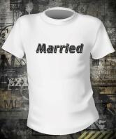 Футболка Just Married Парная