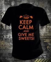 Футболка Keep Calm And Give Me Sweets