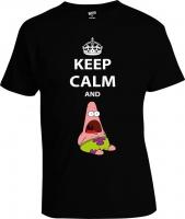 Футболка Keep Calm And Patrick