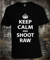 Футболка Keep Calm And Shoot Raw