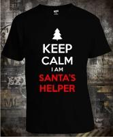Футболка Keep Calm I Am Santas Helper