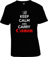 Футболка Keep Calm and Carry Canon