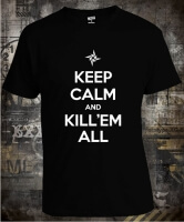 Футболка Keep Calm and Kill 'em All