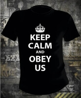 Футболка Keep Calm and Obey Us