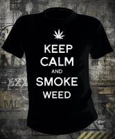 Футболка Keep Calm and Smoke Weed