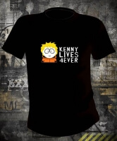 Футболка Kenny Lives 4ever