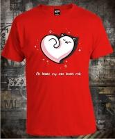 Футболка Kitty Love