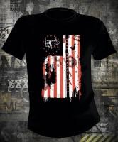 Футболка Lamb Of God Pure American Metal Flag