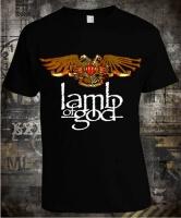 Футболка Lamb of God Eagle Drum Color
