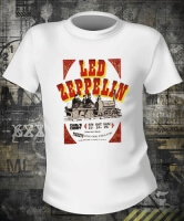 Led Zeppelin Earls Ticket