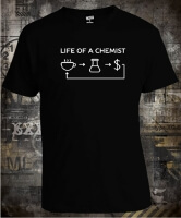 Футболка Life of a Chemist