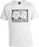 Футболка Lion King Simba & Nala