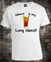 Футболка Where is My Long Island