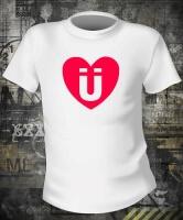 Футболка Love U