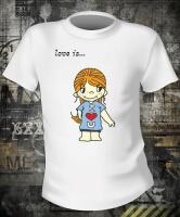 Футболка Love is Boy And Girl