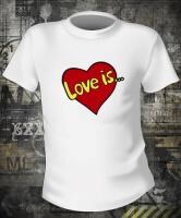 Футболка Love is logo