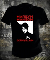 Футболка Marilyn Manson Born Villain