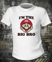 Футболка Mario Big Brother