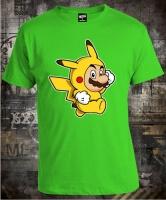 Футболка Mario Pikachu