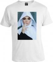 Футболка Mass Nun White Монашка
