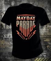 Mayday Parade Black Lines Bomber