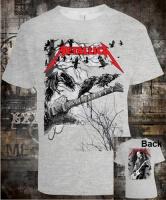 Футболка Metallica Guitar With Crows