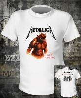 Футболка Metallica Jump In The Fire White