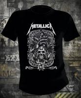 Футболка Metallica Skull Logo