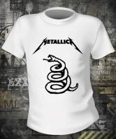 Футболка Metallica Snake