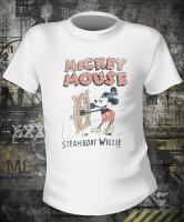 Футболка Mickey Mouse Steamboat Willie
