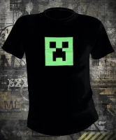 Футболка Minecraft Creeper