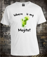 Футболка Where is My Mojito