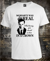 Футболка Moriarty Was Real