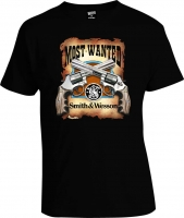 Футболка Most Wanted Smith and Wesson