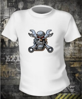 Футболка Motorcikle Skull