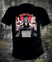 Футболка Motorhead Lemmy on Throne