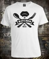 Футболка My kitchen my rules