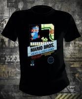 Футболка Nintendo Mario NES Arcade Cover